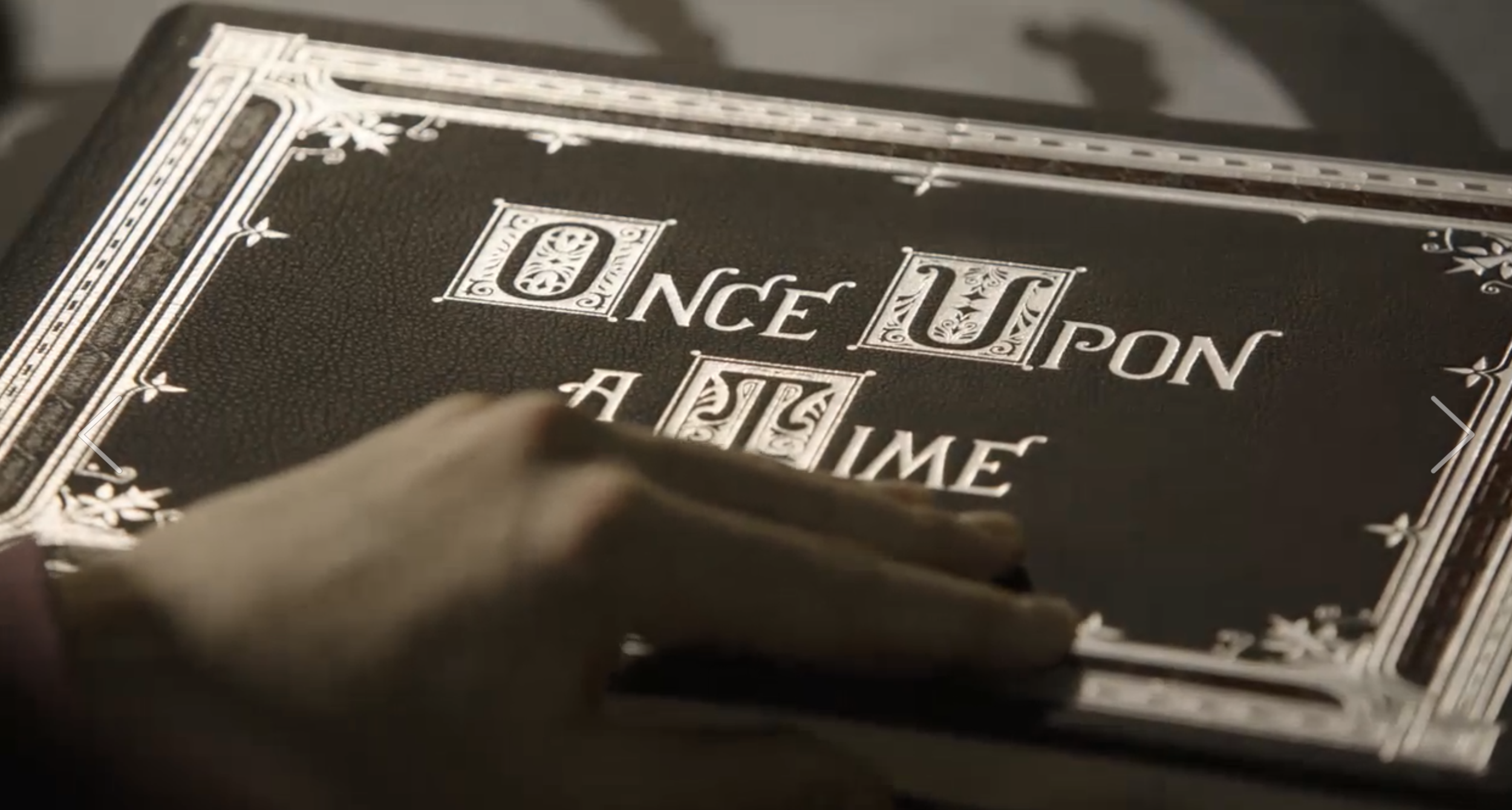 Re-design of Once Upon a Time Book for Final Episode,  Ep.22