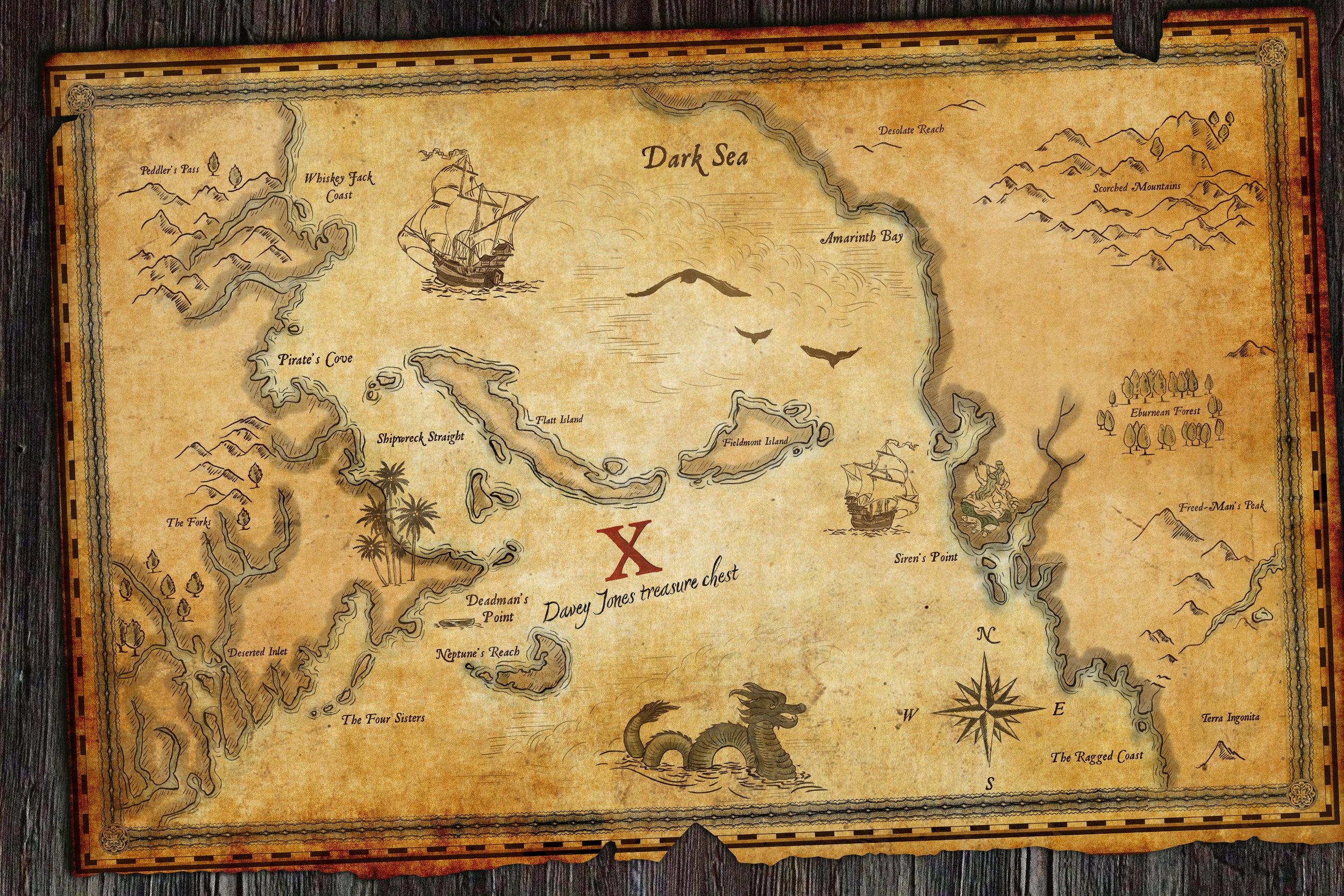 Treasure Map to Davey Jones' Locker,  Ep.715