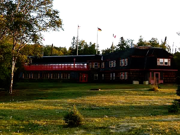 Historic Naniboujou Lodge on Lake Superior