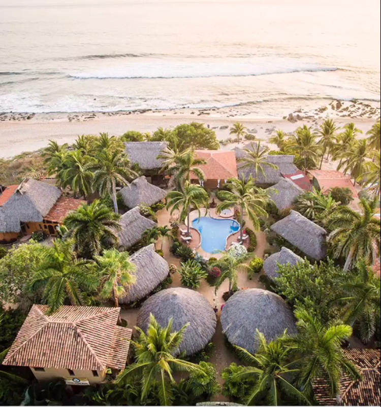 Image: Present Moment Retreat, Ixtapa Mexico, one of the world's top 25 wellness retreats
