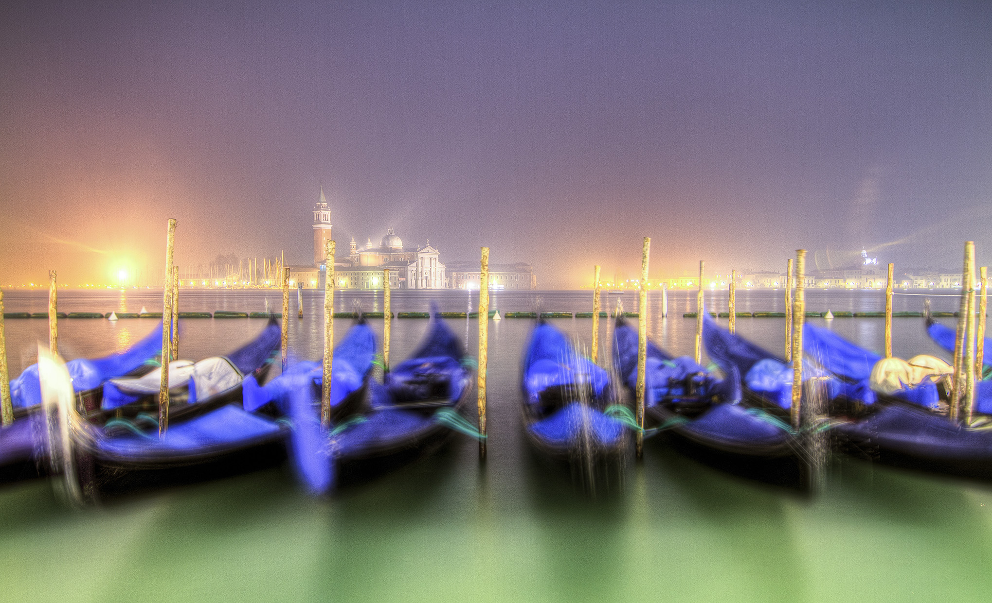 Gondola Docking, Venice