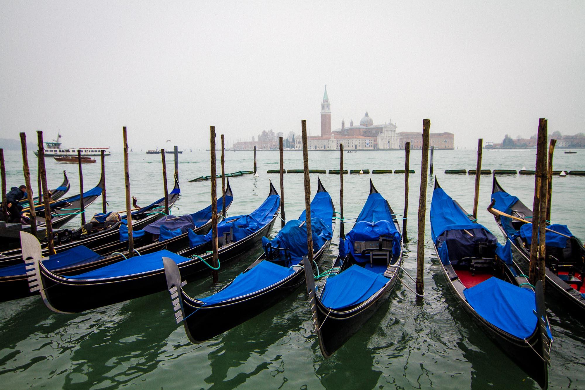 Daytime Docking, Venice