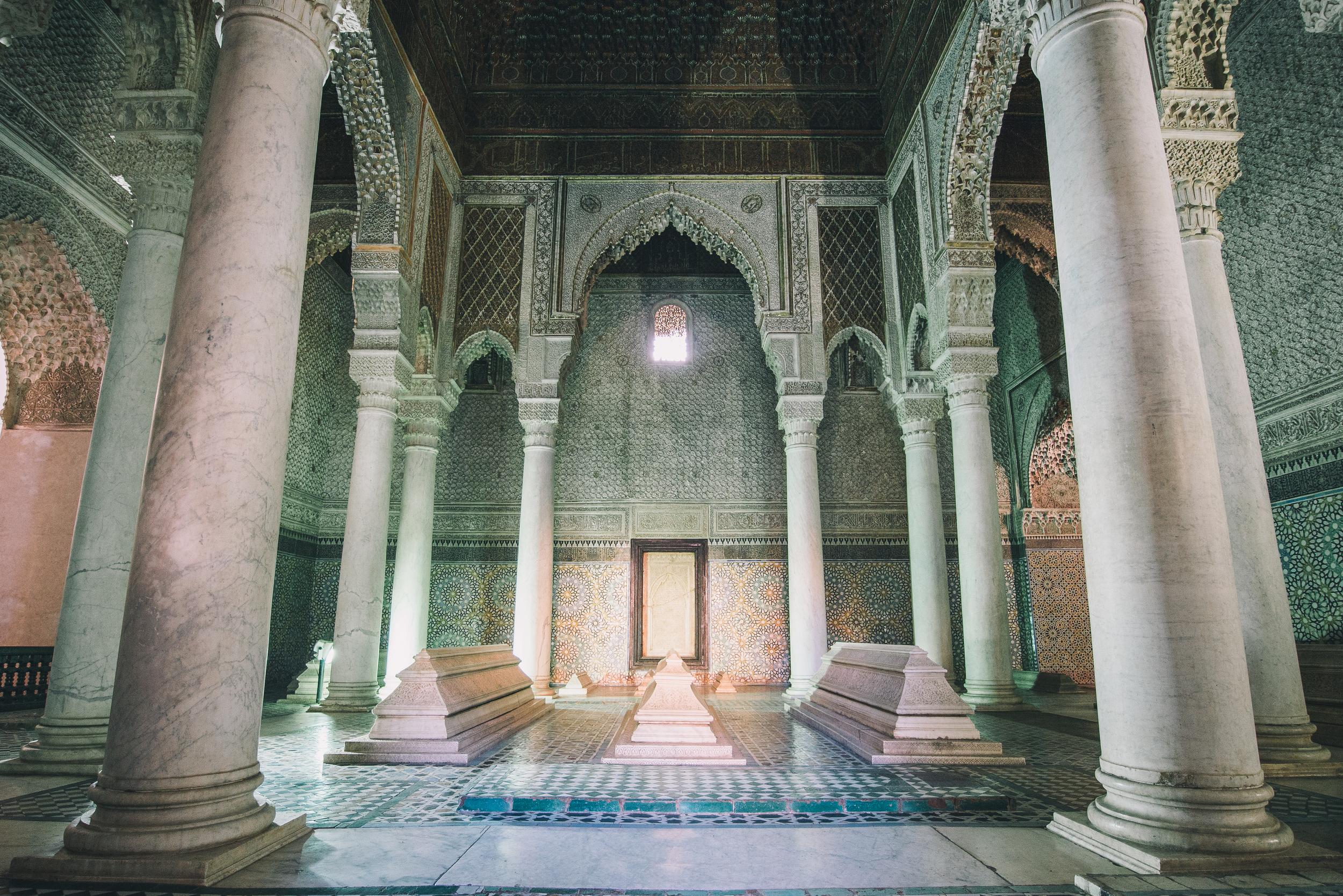 Burial Room, Saadian Tombs