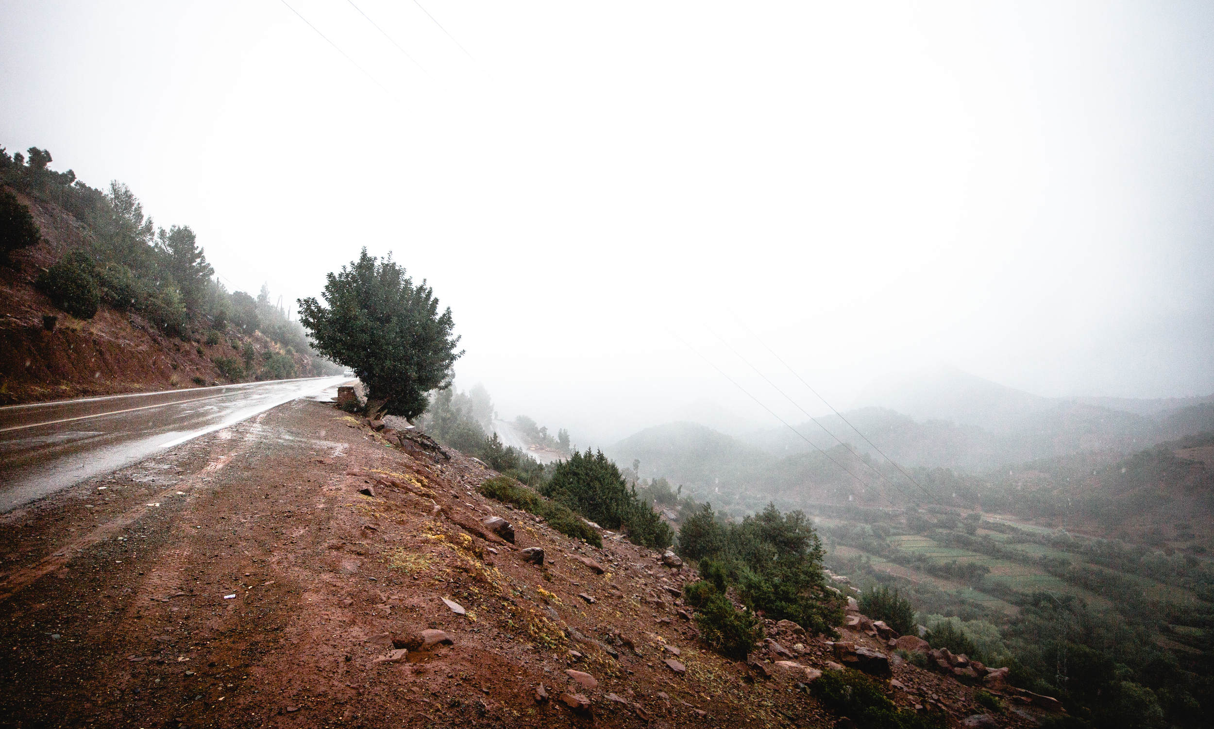 Driving the High-Atlas Mountains