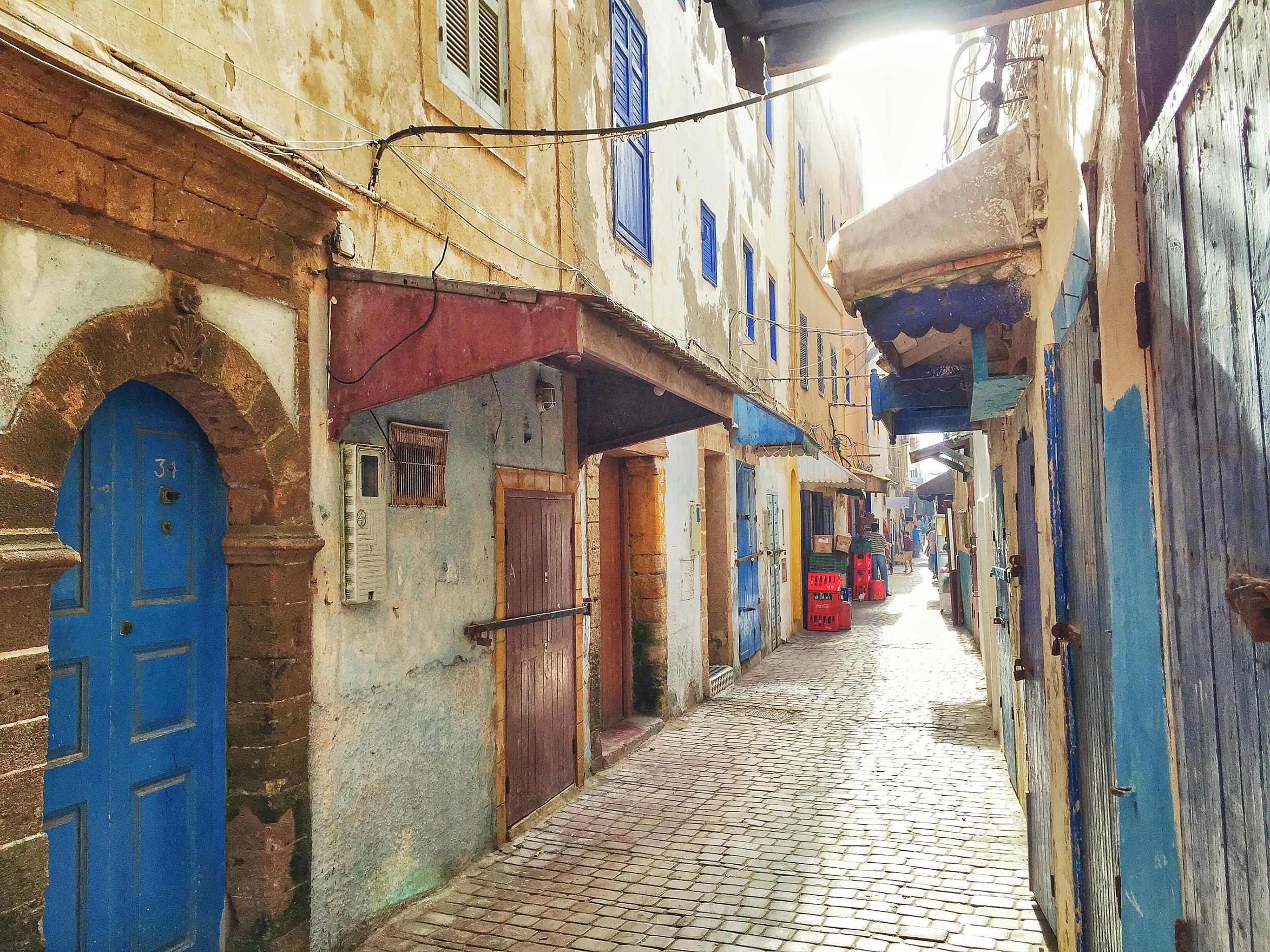 Rue d'Oujda, Essaouira