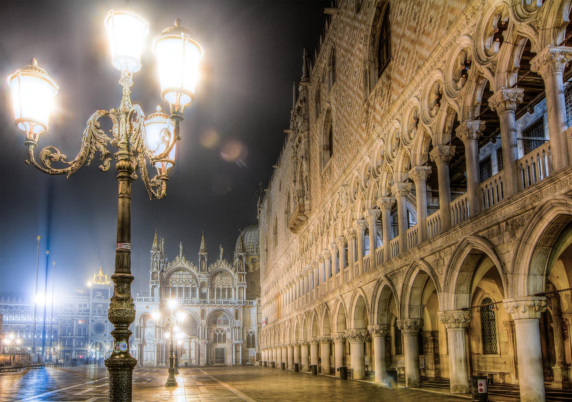 Lights ofPiazza San Marco, Venice