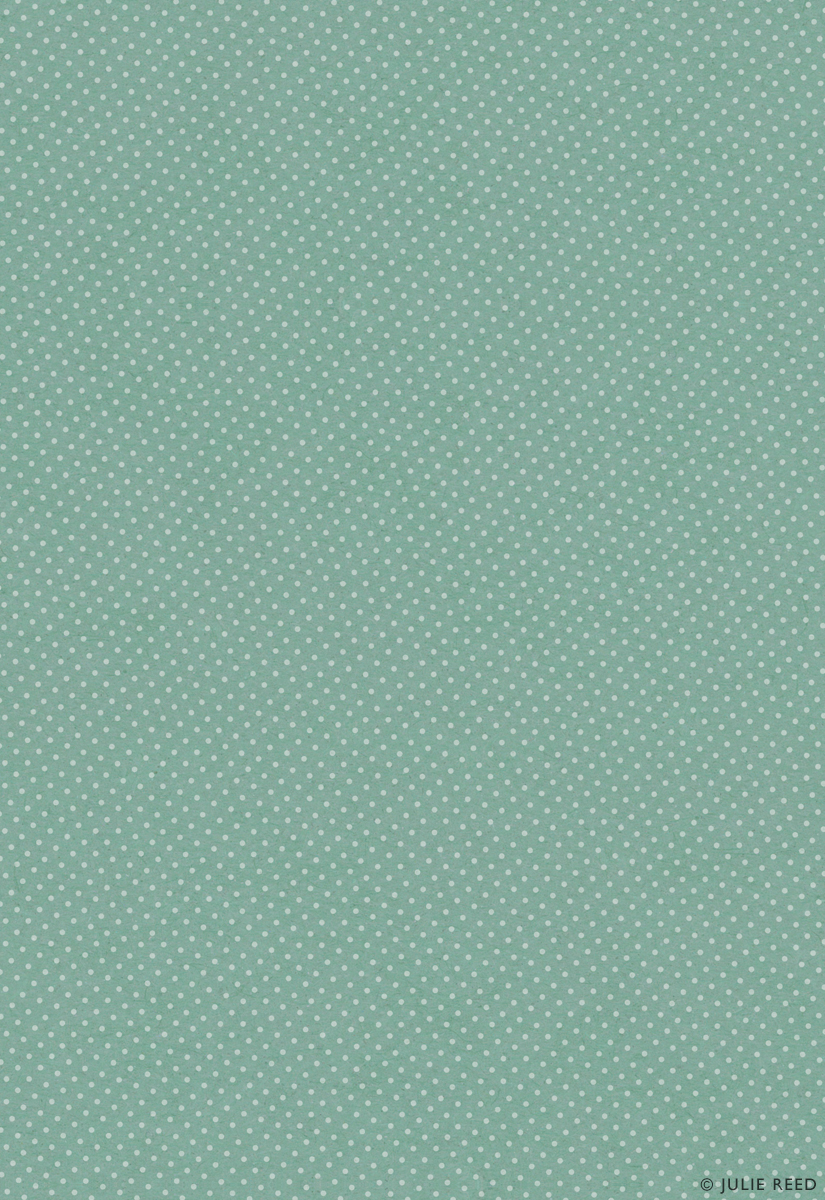 TINY DOTS • TURQUOISE