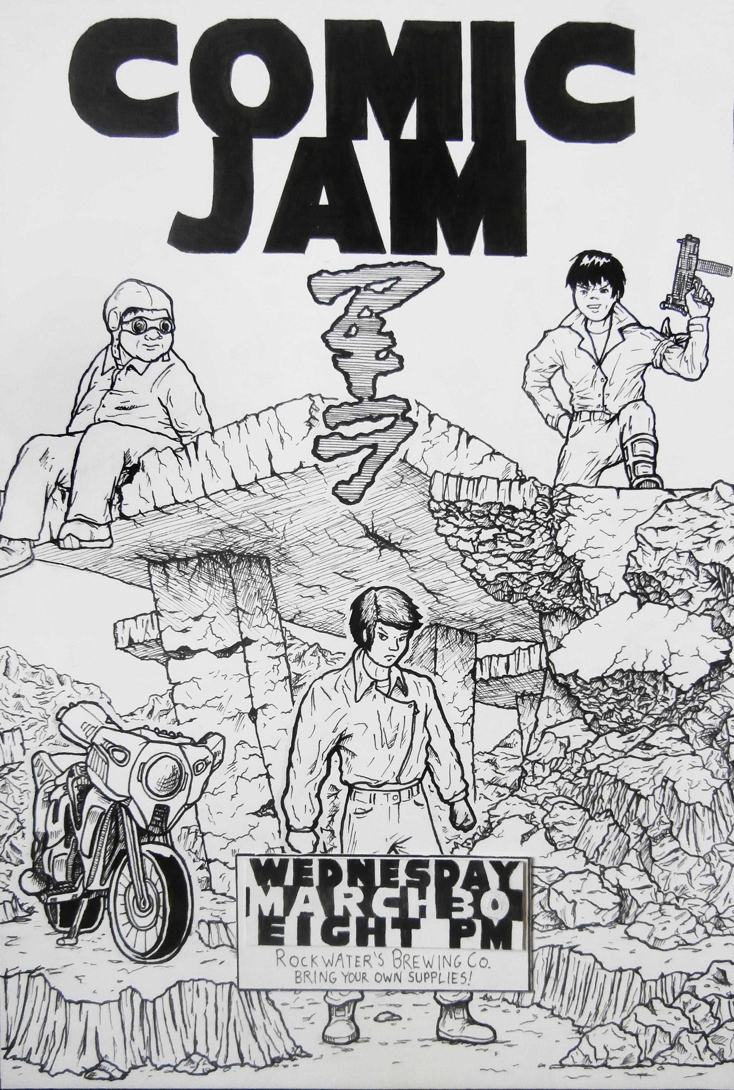 Comic Jam poster, 2004