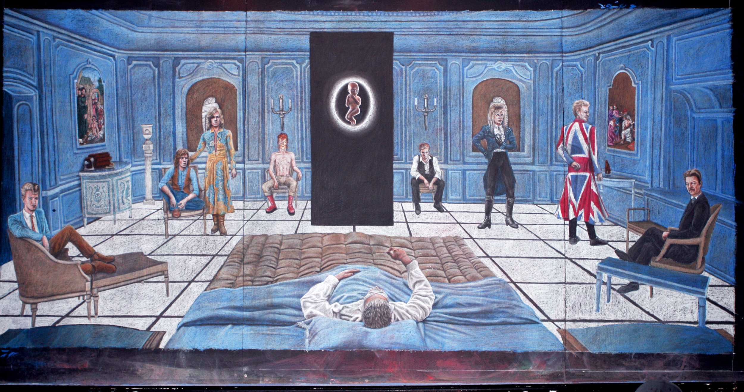 Bowie 2001 Mural