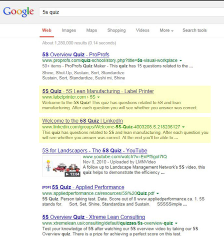 Social Media for SEO SERP
