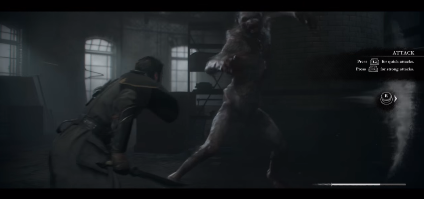 The Order: 1886 Review - QTE