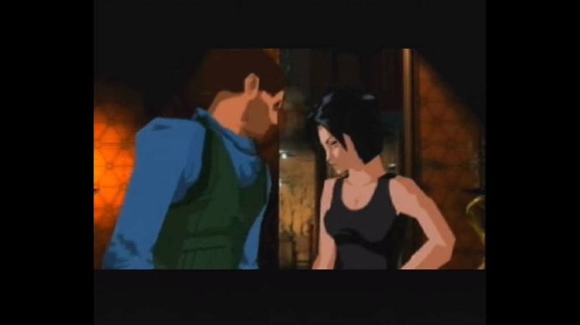 Glas and Hana - Fear Effect Review
