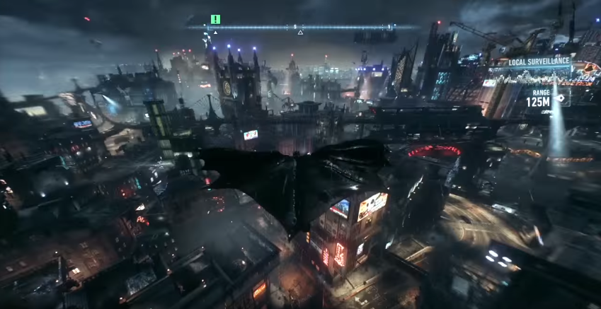 The Dark Knight Skying - Arkham Knight Review