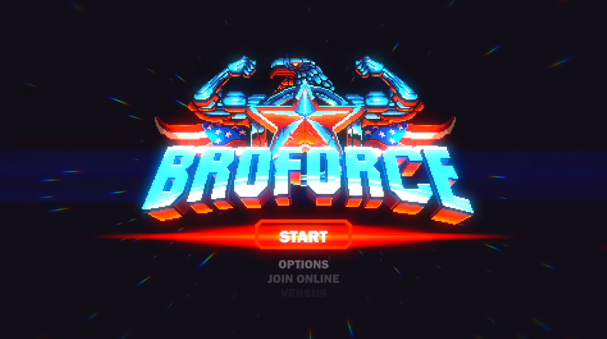 Lots of Testosterone - Broforce Review