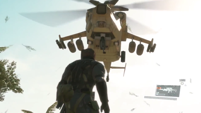 Boss vs. Helicopter - Metal Gear Solid V: The Phantom Pain Review