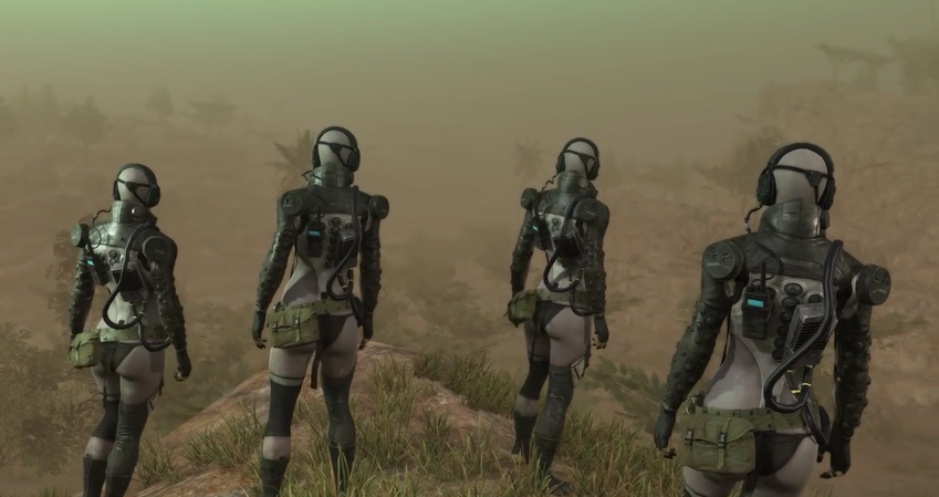 THE SKULLS - A PRIMARY ANTAGONIST OF METAL GEAR SOLID V: THE PHANTOM PAIN - Metal Gear Solid V Review