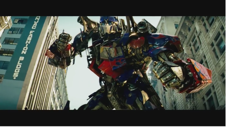 Michael Bay's Transformers - One in a long line of his Guilty Pleasure Movies