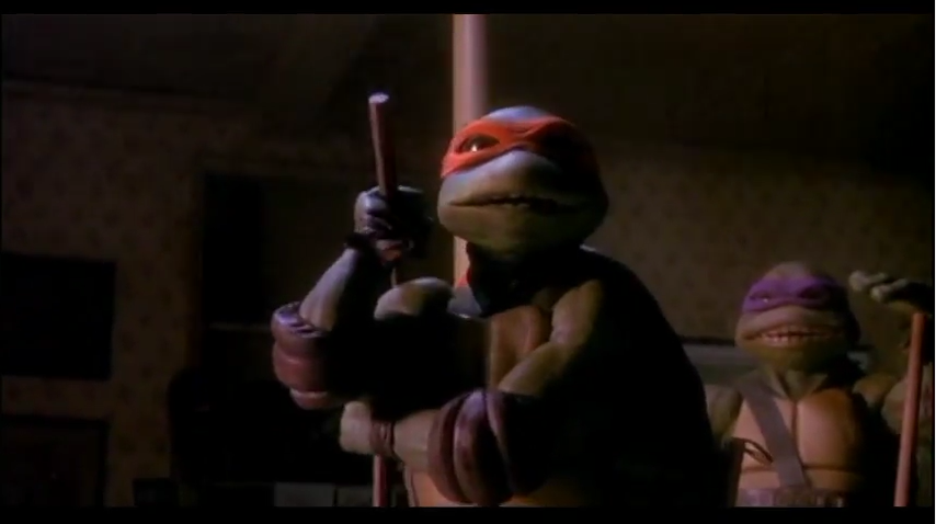 """""""A Fellow 'chucker Eh?"""" - the only TMNT Guilty Pleasure"""