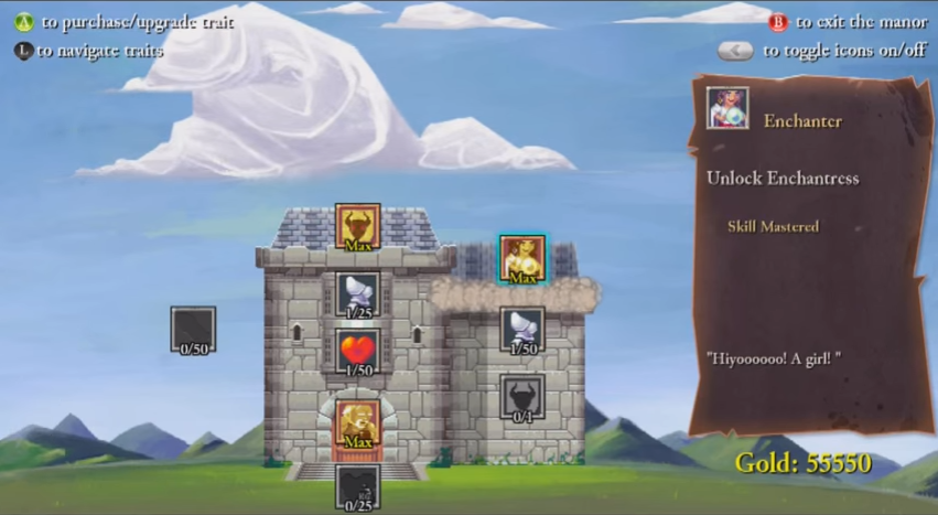 """The Upgrade """"Tree"""" - Rogue Legacy Review"""