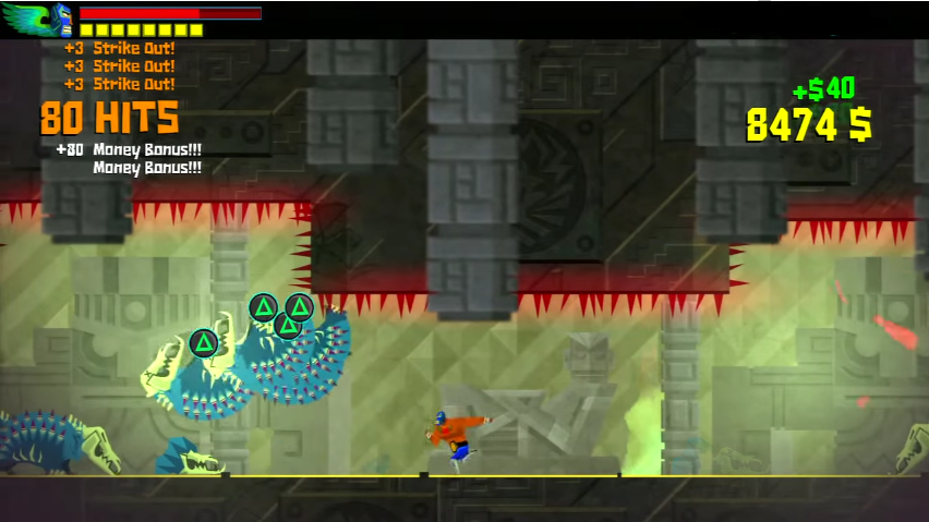 The Grapple Prompt in Guacamelee