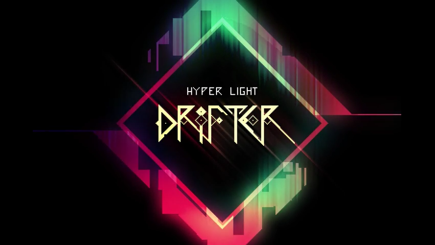 Title Screen - Hyper Light Drifter Review
