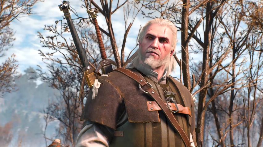 Full Geralt Pose