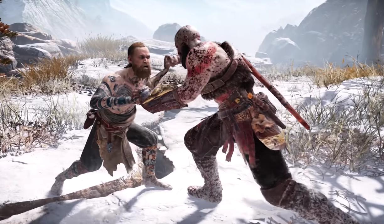 Kratos vs. a God