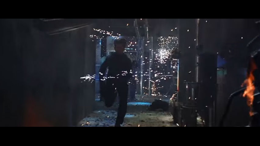 Tom Cruise's Running with John Woo's Sparks