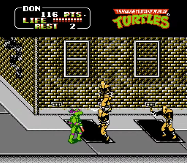 A perfect Arcade port at home - TMNT
