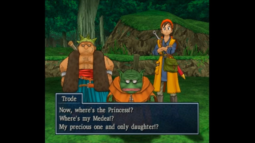 The Horse Princess - Dragon Quest VIII