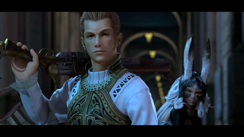 Balthier & Fran- Final Fantasy XII