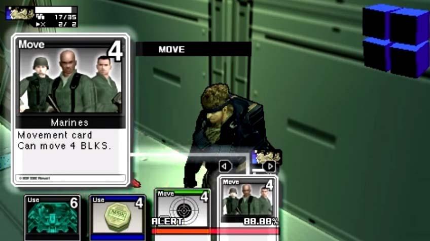 Playing Cards - Metal Gear Acid