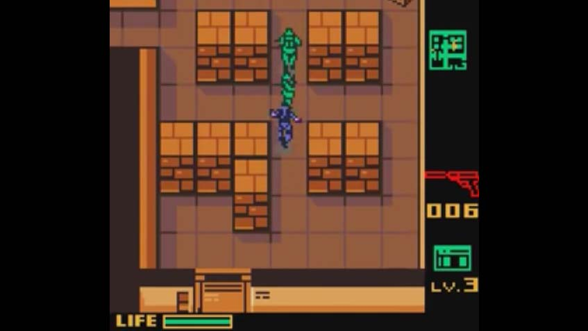 The Best 2d Metal Gear Game - Ghost Babel
