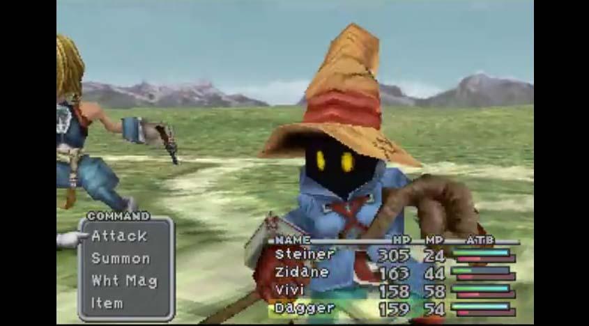 Vivi of Final Fantasy IX