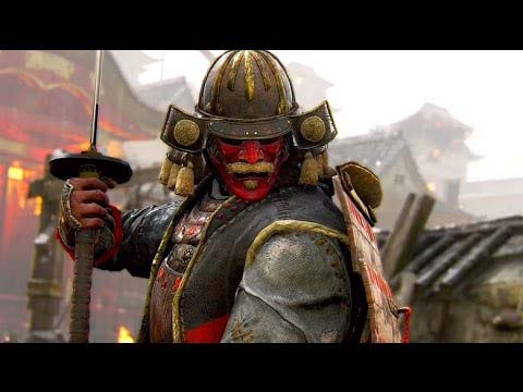The Samurai of For Honor
