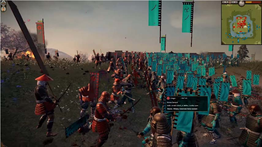 One of the Best Representations of Samurai - Total War - Shogun 2