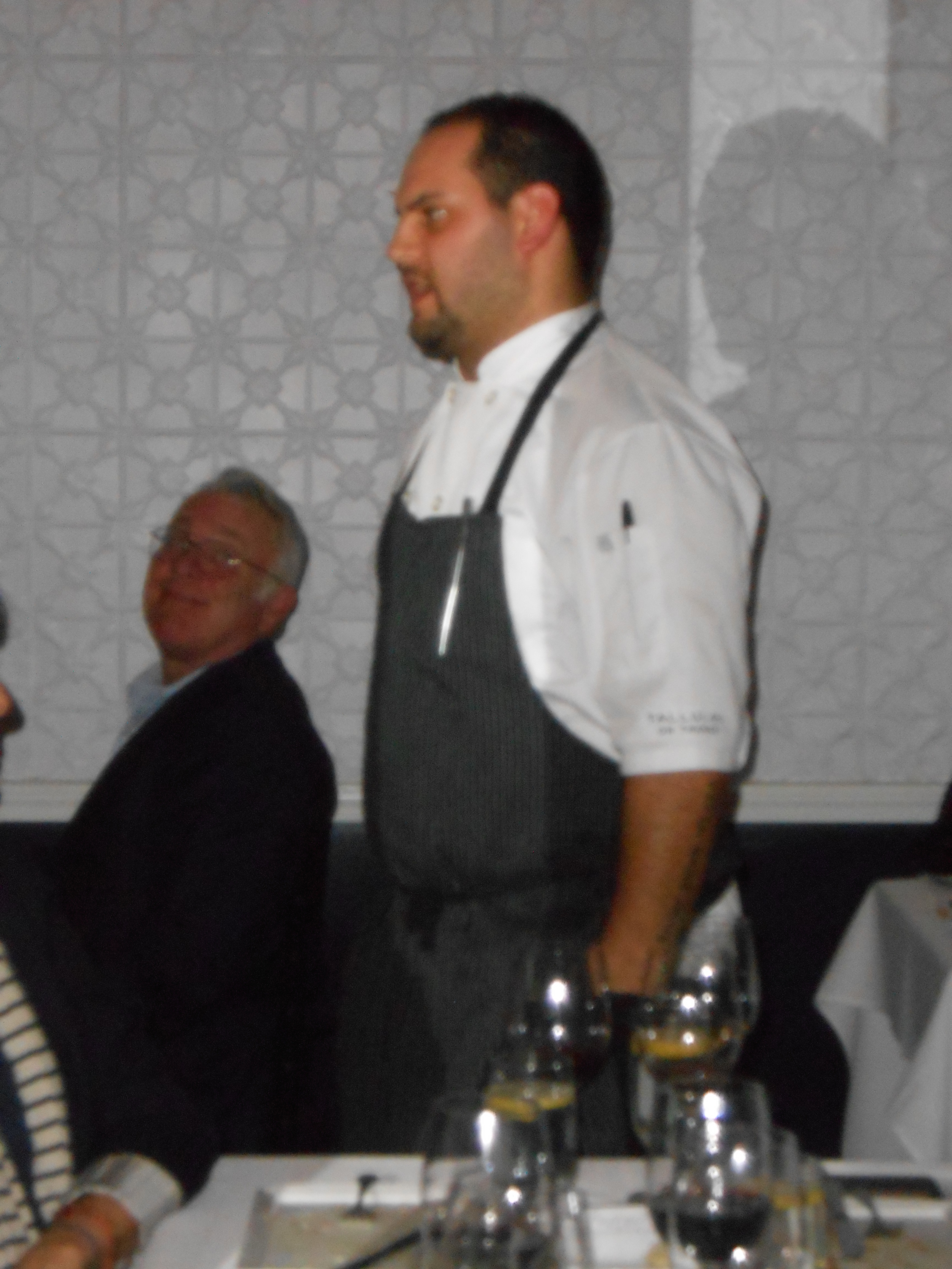Chef Jake Rojas joins the conversation