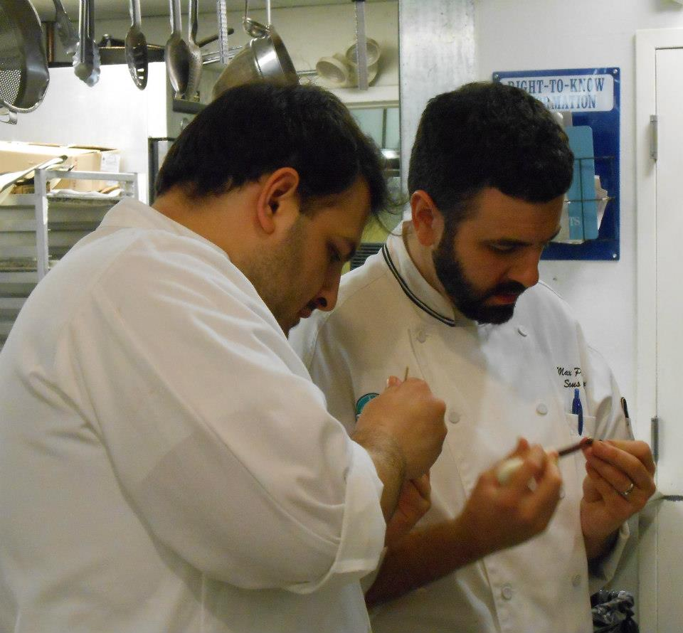 Chefs puzzle over how to remove periwinkle meats from their shells.