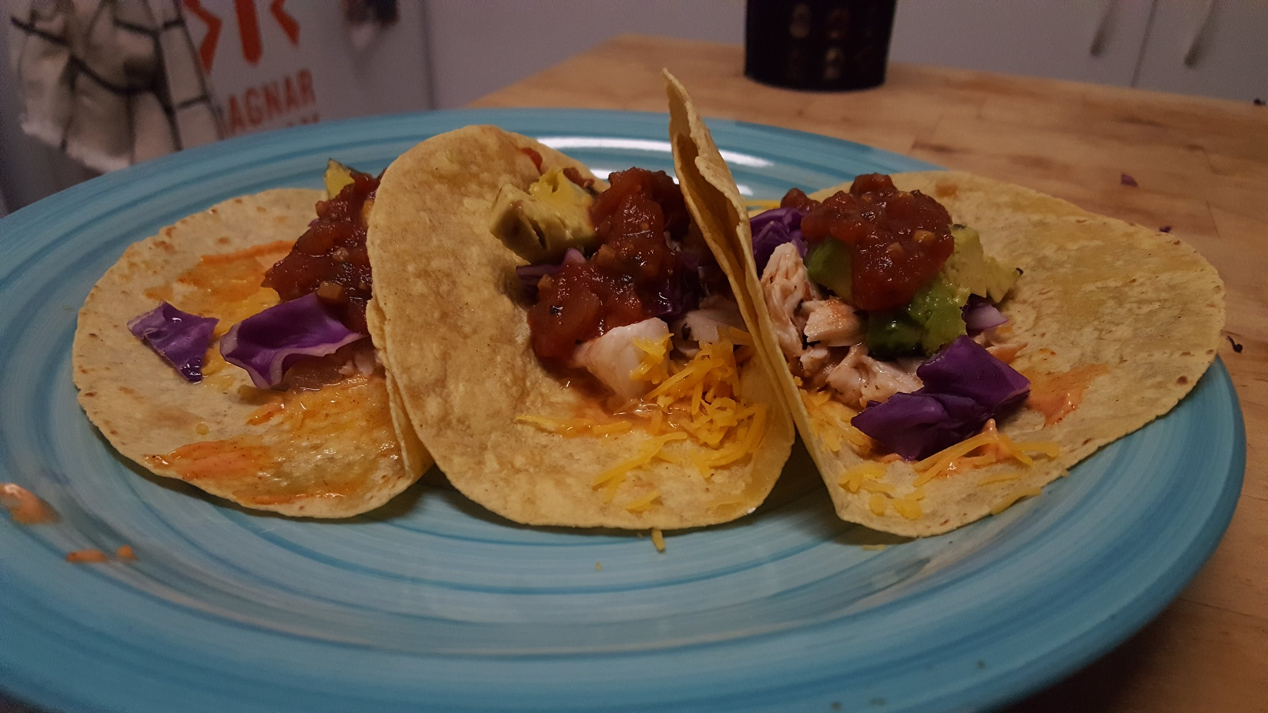 Black Sea Bass Tacos
