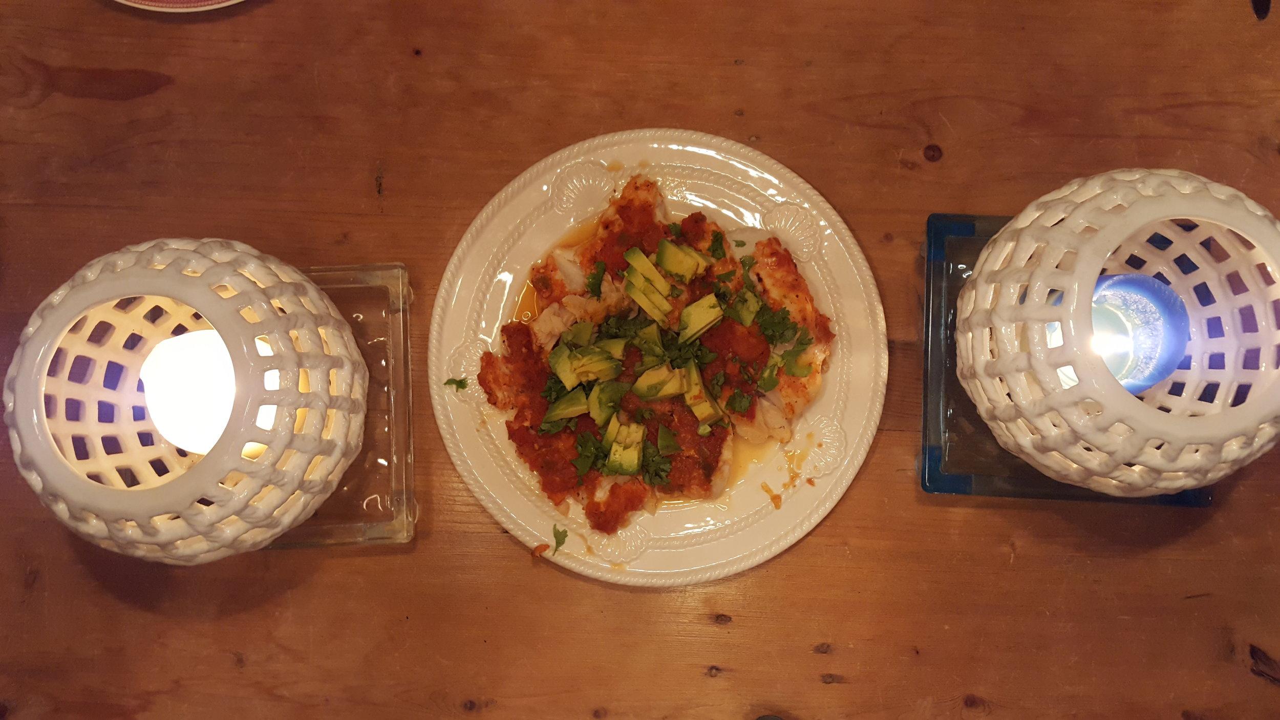 Salsa Cod