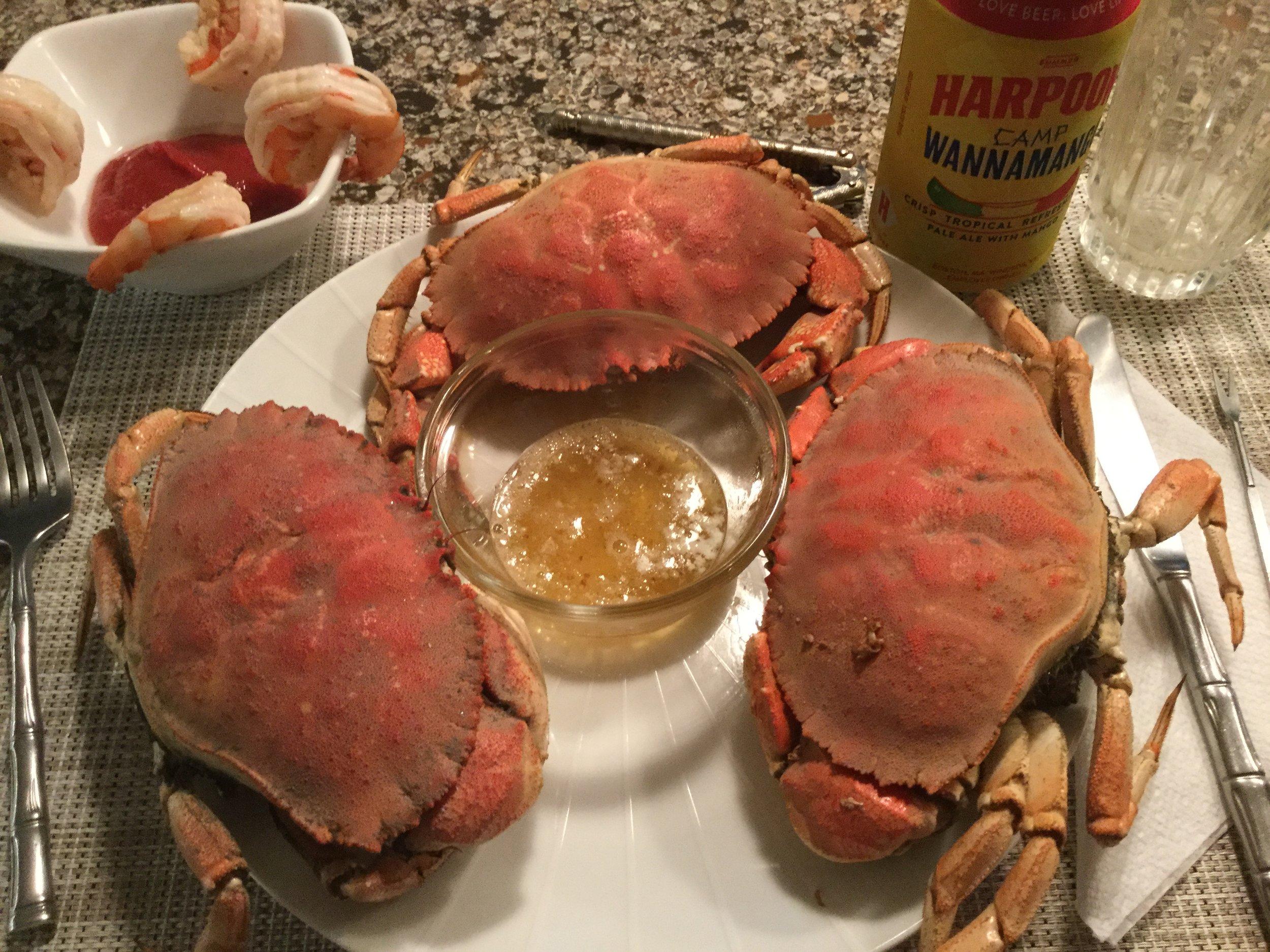Jonah Crab feast!
