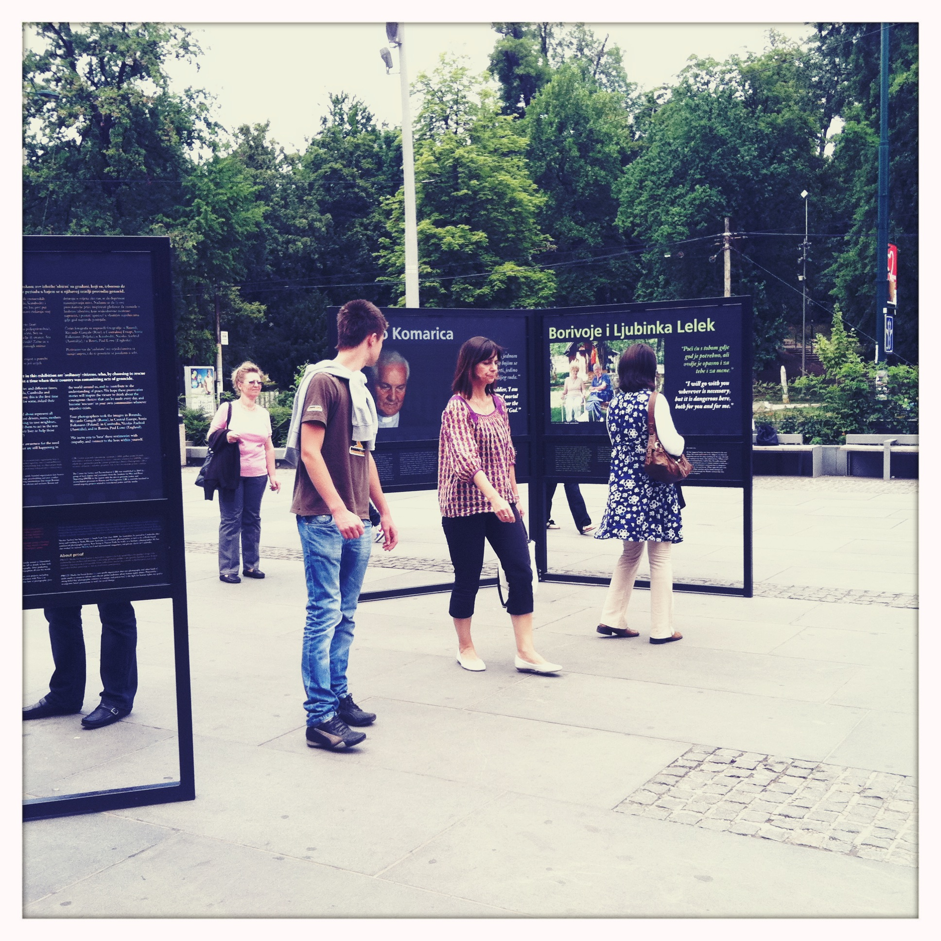The Rescuers on display that the BBI Centar, Sarajevo, Bosnia and Herzegovina, in July 2011. Photo: PROOF.
