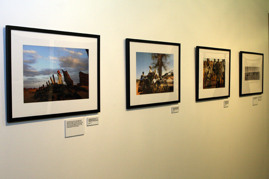 Dafur: Photojournalists Respond exhibition.