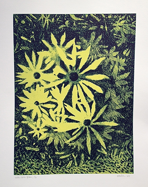 "28. ""Yellow Solar Bloom"""