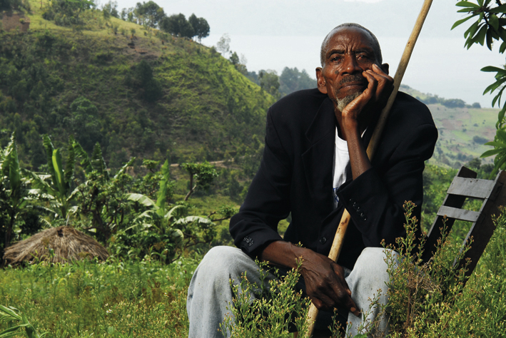 Rwandan rescuer Augustine Kamegeri. Photo: Riccardo Gangale.