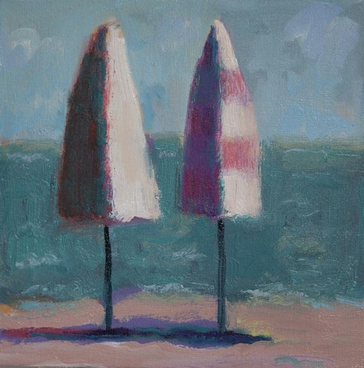 64_Two_Umbrellas_With_Green_Sea_Fran_Dropkin.jpg