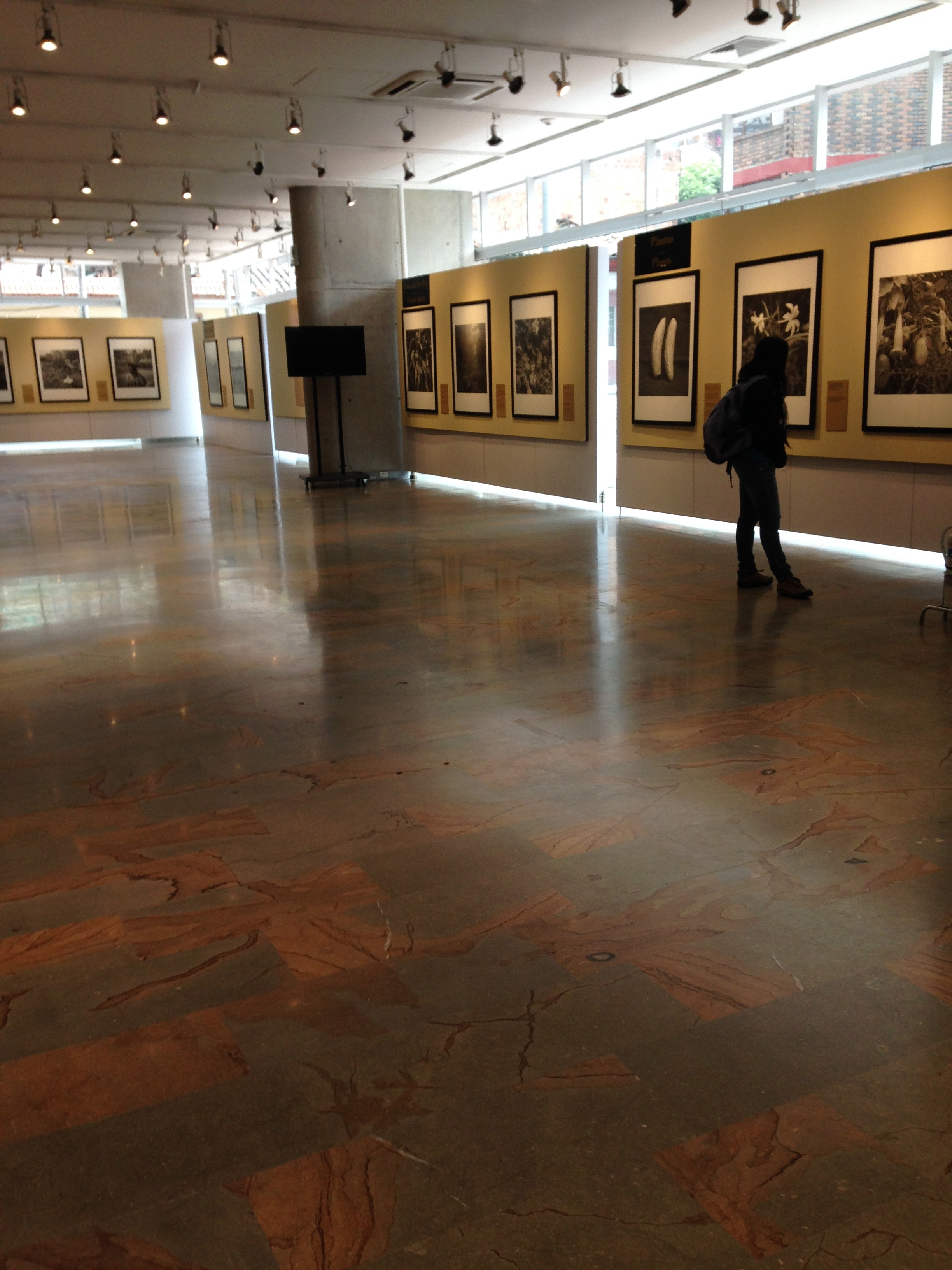 The art gallery of the University of Los Andes in Bogota, Colombia.