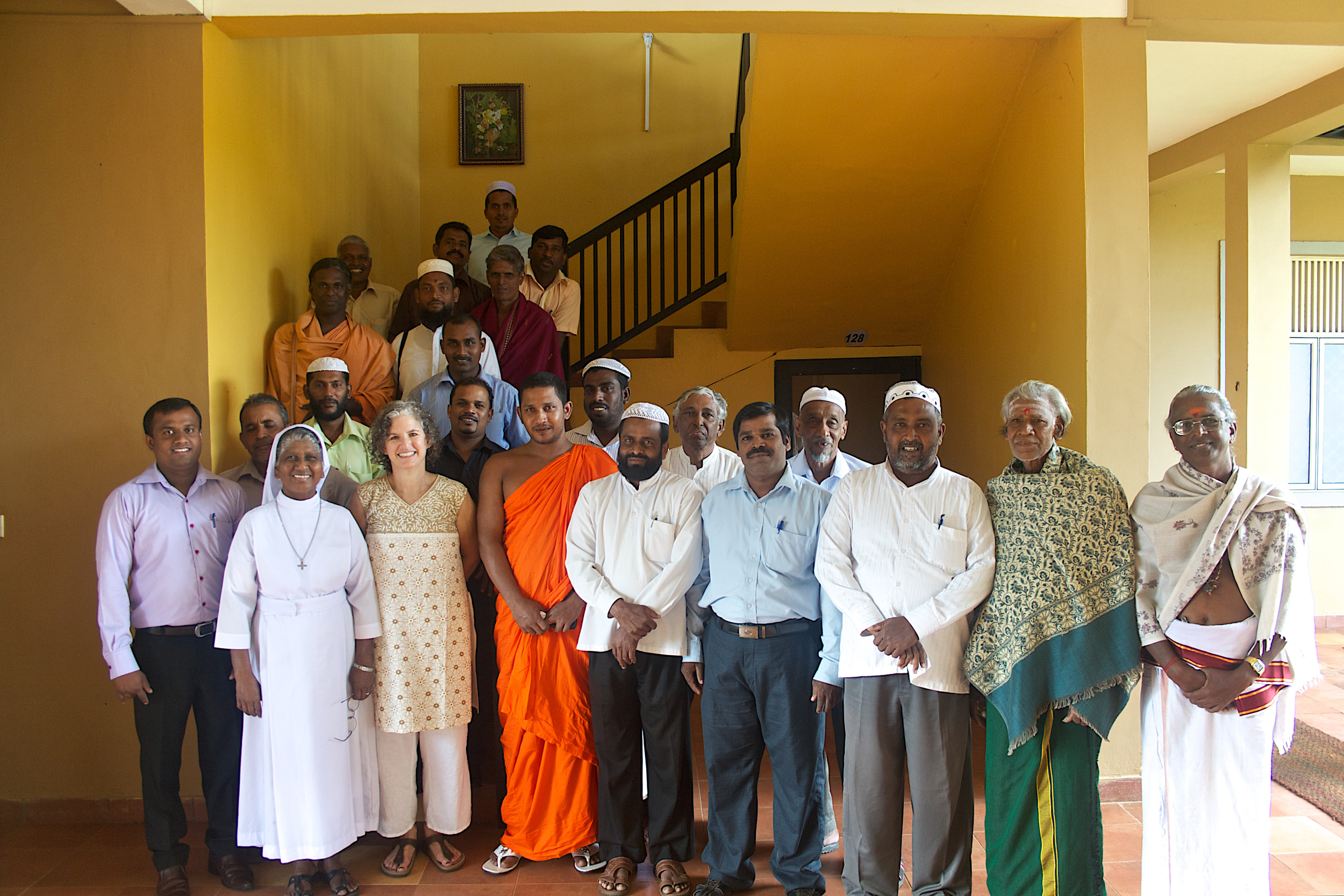 PROOF's Executive Director, Leora Kahn, at the Interfaith Conference in Sri Lanka earlier this year.