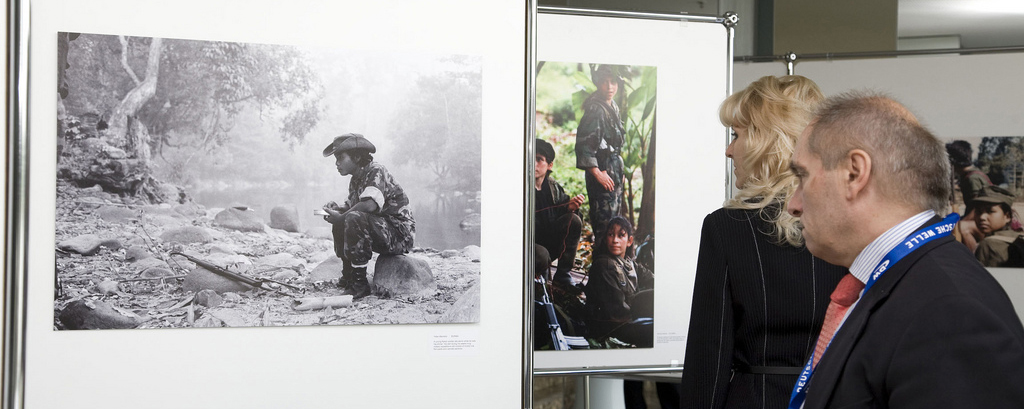 """Child Soldiers"" exhibit in Bonn"
