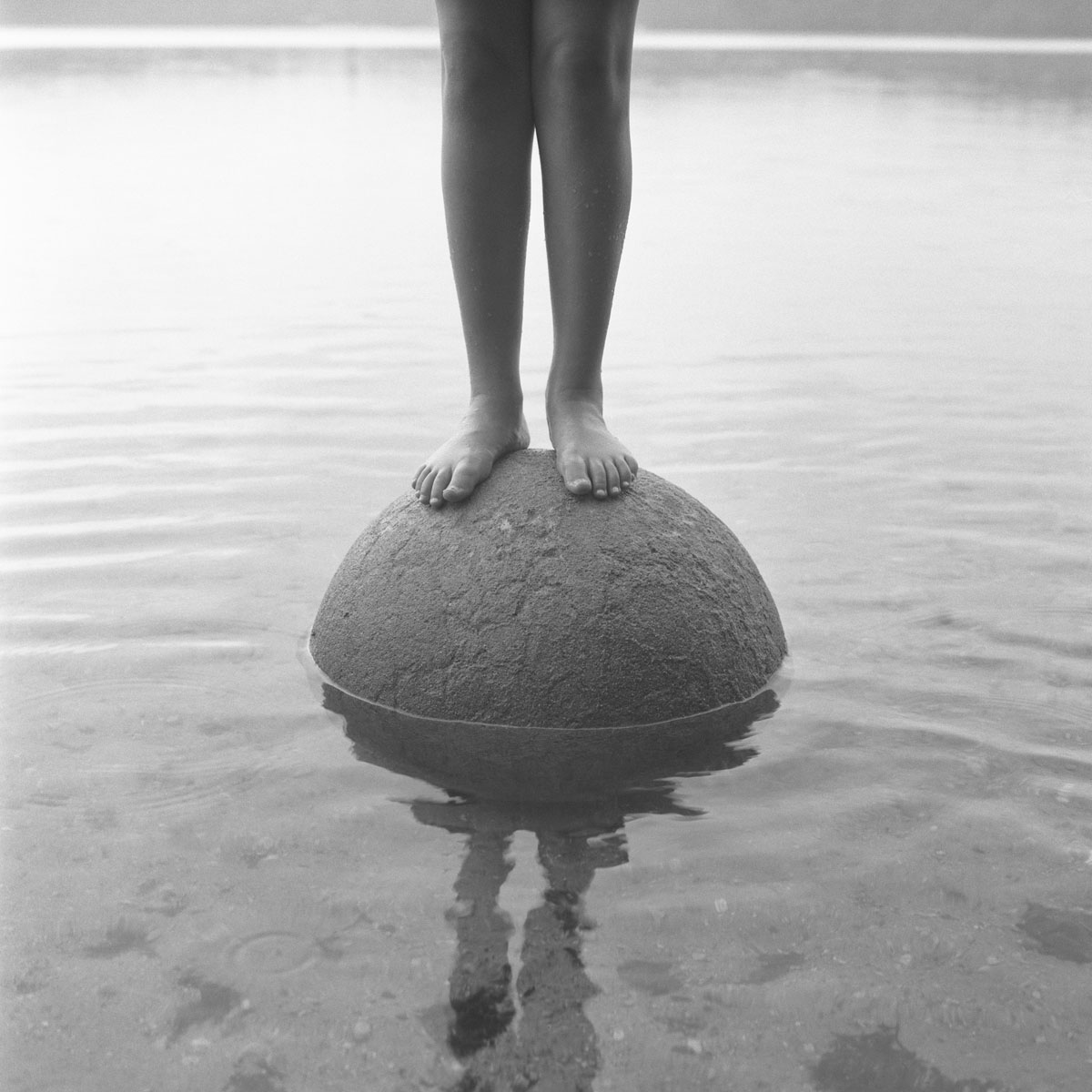 """Aline Smithson's """"Standing on Top"""" will be at PROOF's 5th Annual Auction"""